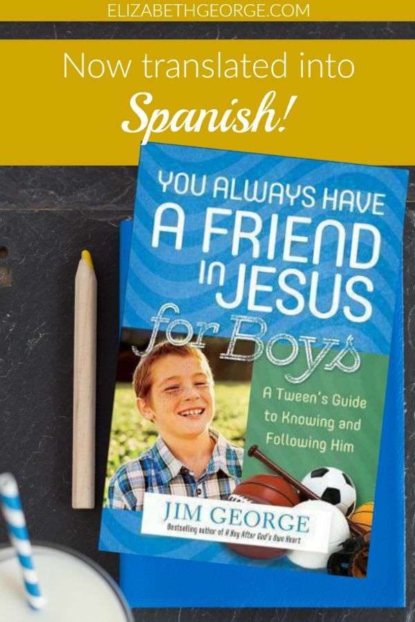 Everyone needs a friend they can count on ... and Jesus is the best! Pick up a copy of this book for your tween boy—now in Spanish.