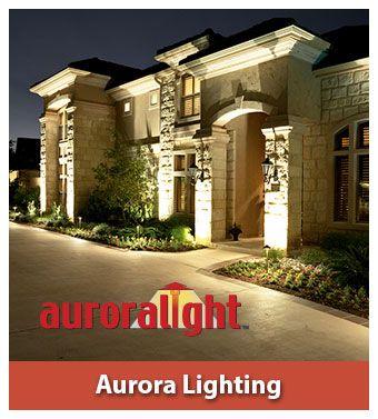 Aurora landscape lighting