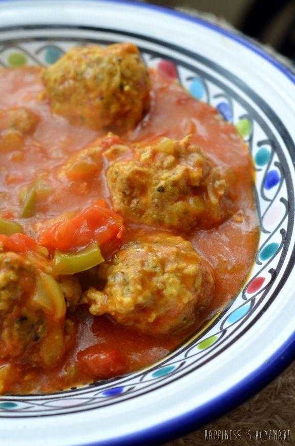 tunisian style meatballs | Recipes | Pinterest | Style