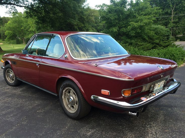 Cars For Sale Online >> 1973 BMW E9 CS Coupe For Sale Malaga Rear | Adrenaline Capsules | Pinterest | Bmw e9, BMW and ...