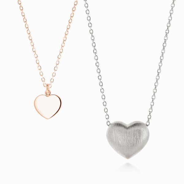 LOVE heart pendant & HEART OF GOLD pendant - Linda Tahija Jewellery