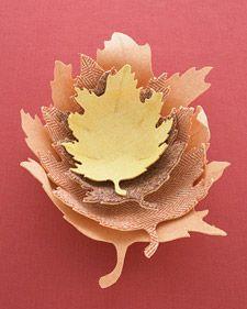 Tweed Oak Leaf Bowl How-To