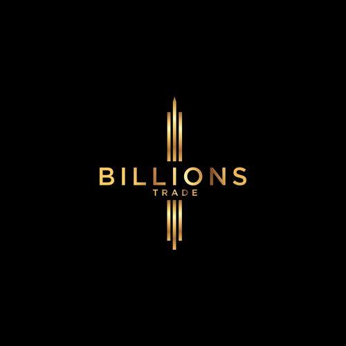 Billions �20Logo design for a new international broker inspired in the TV series Billions
