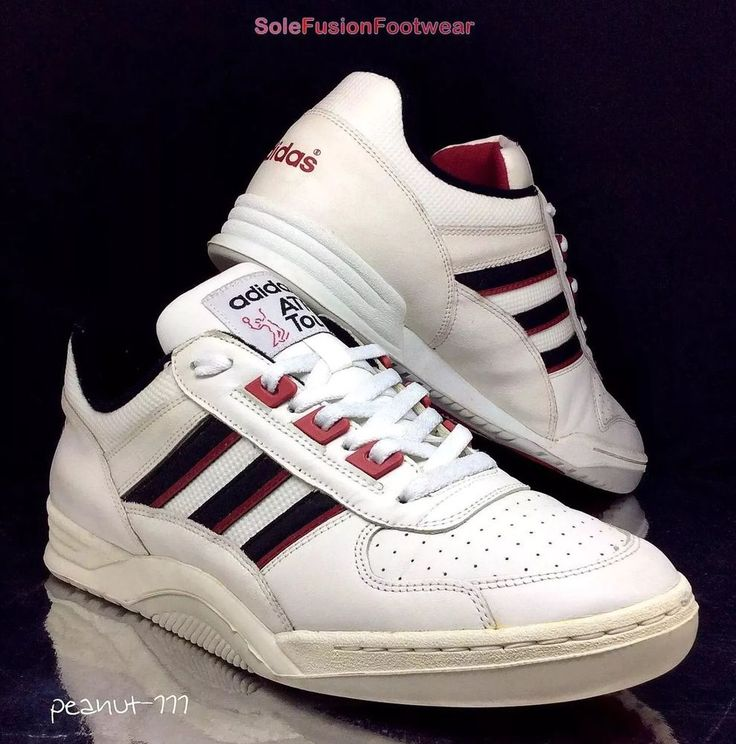 adidas ATP Tour Mens Trainers White/Red size 8.5 VTG Rare Sneaker US 9 EU 42 2/3 in Clothes, Shoes & Accessories, Men's Shoes, Trainers | eBay