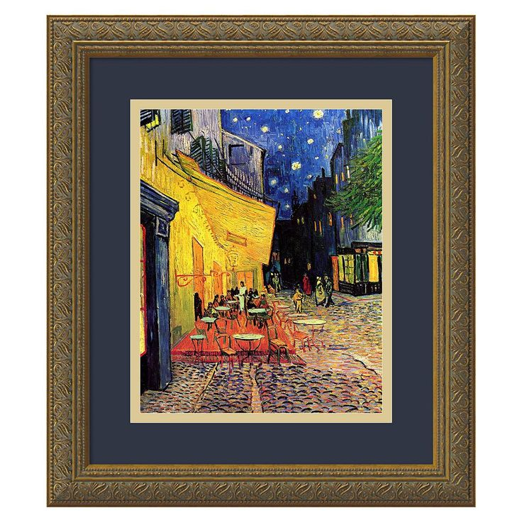 essay cafe terrace night Famous artist essay: vincent van gogh student example that the sky is flowing and the calmness of the night vincent van gogh was a very talented artist.
