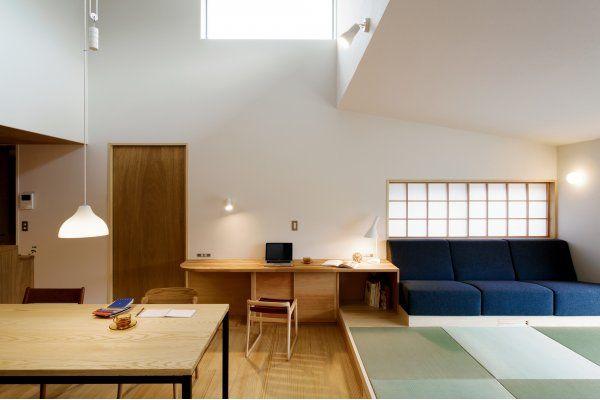 暮らしと自然をつなぐ畳リビングの家|さほらぼ by 佐保建設の建築実例|ステップハウス注文住宅