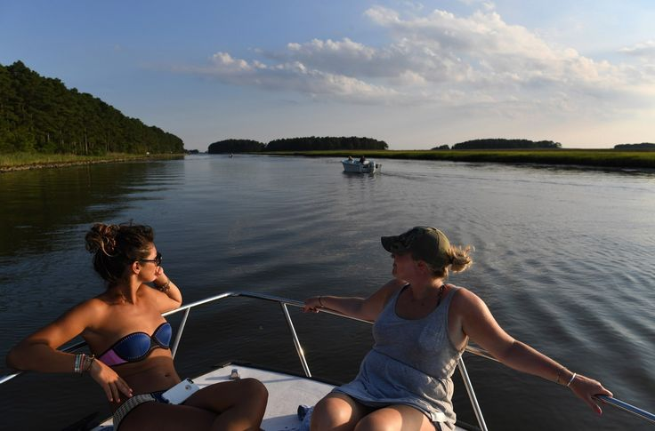 Janes Island State Park on the Chesapeake Bay has six miles of beaches and marshlands — if you can get to it.