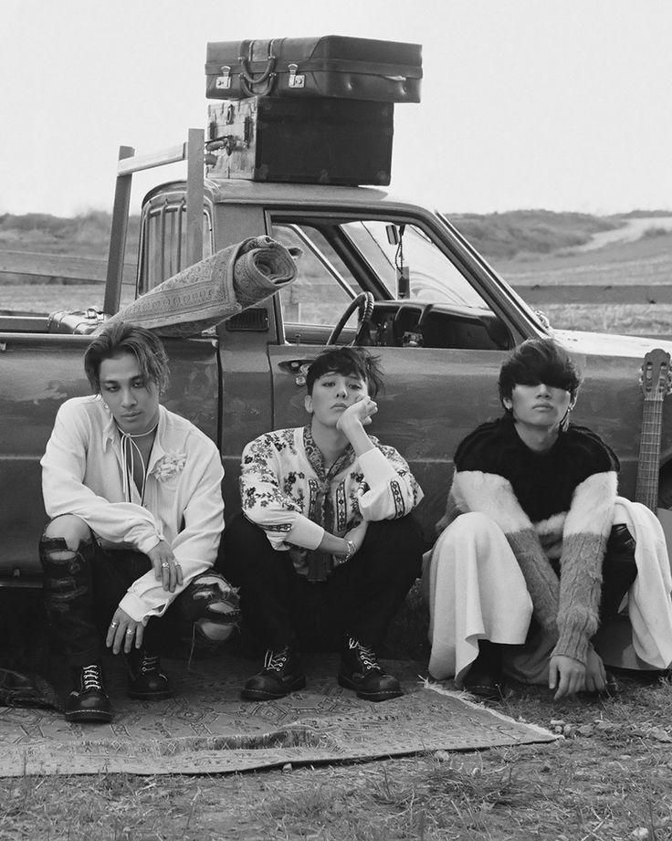 kpophqpictures: [HQ] BIGBANG Taeyang, G-Dragon & Daesung for Vogue Korea 1300x1628