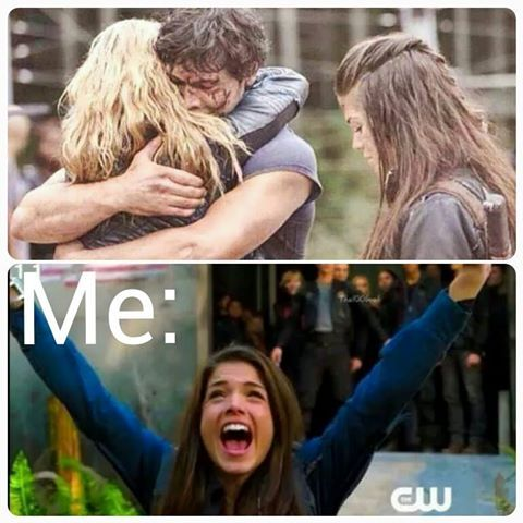 Tell me I'm not the only one ;) Bellarke The 100