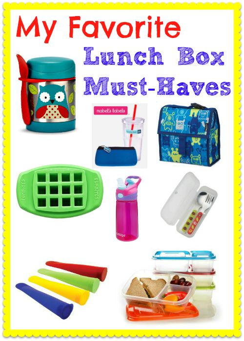 My Favorite School Lunch Box Must-Haves