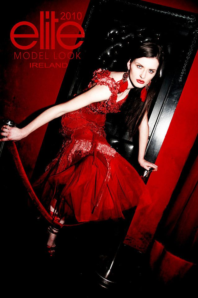 Elite Model Look Ireland 2010 - Campain Shoot - By Rick Taylor with model Grace Connell