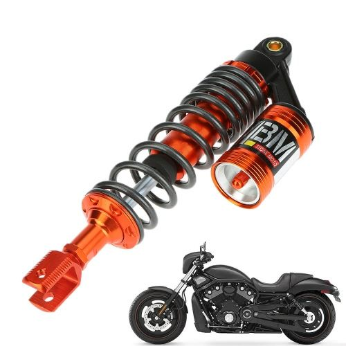 One Pair of MBM 325mm Motorcycle Scooter Air Shock Absorber Rear Suspension Spring Damper Assy