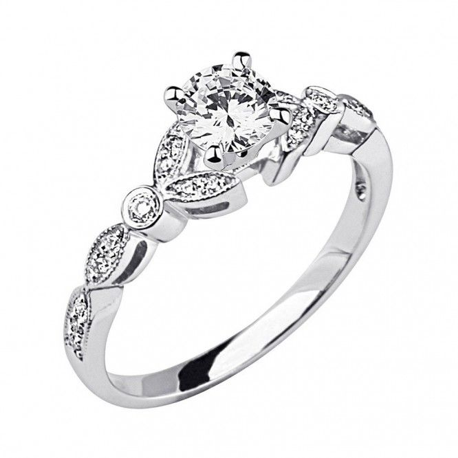 Delicieux Unique Vintage Wedding Rings For Women