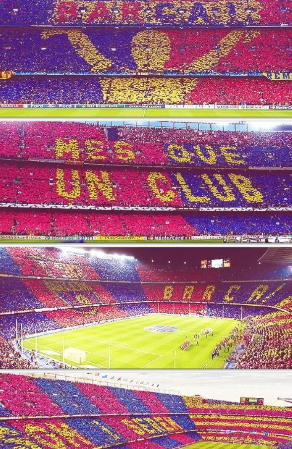 home sweet home #CampNou #Barca