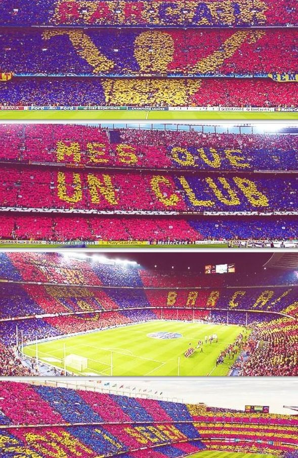 Camp Nou home sweet home FC Barcelona