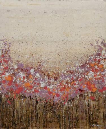 """Saatchi Art Artist Lisa Carney; Painting, """"Purple Prairie (Featured Painting)"""" #art"""