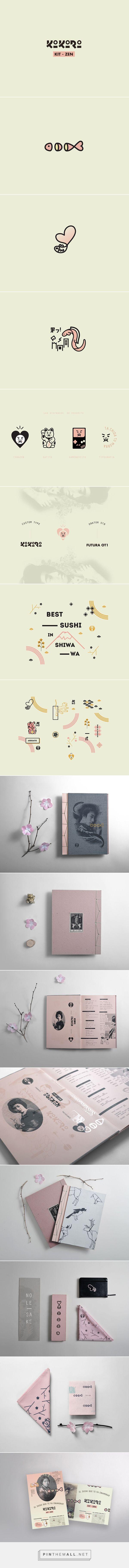 Kokoro kit zen on Behance   Fivestar Branding – Design and Branding Agency & Inspiration Gallery