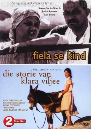 FIELA SE KIND / DIE STORIE VAN KLARA VILJEE - South African Double DVD *New* - South African Memorabilia Store