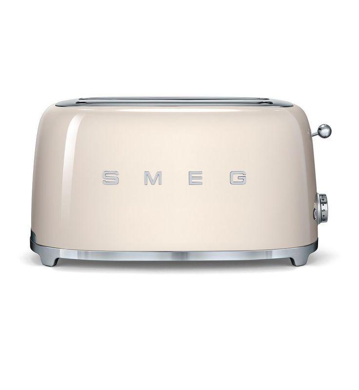 Smeg TSF02CRAU 4 Slice Toaster