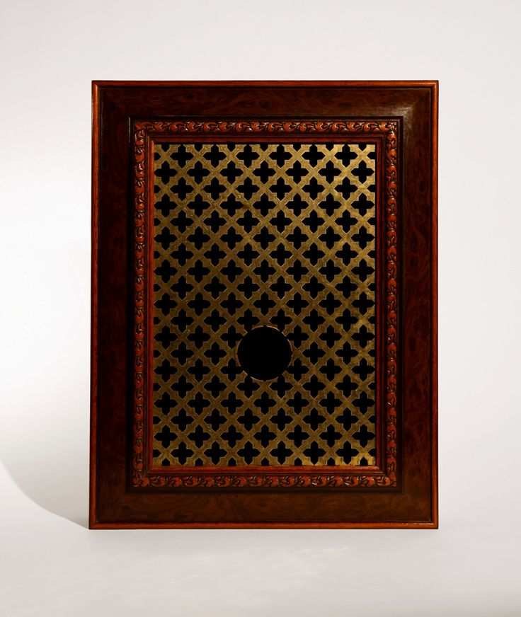 Jonny Briggs   Confession Box Grill with hole   2010   Mixed media   30x40x11 cm