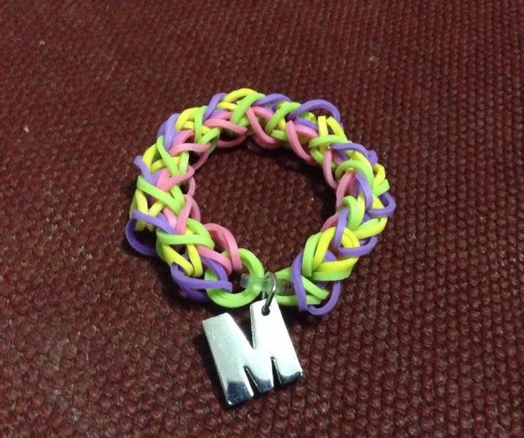 Diamond bracelet #rainbowloom