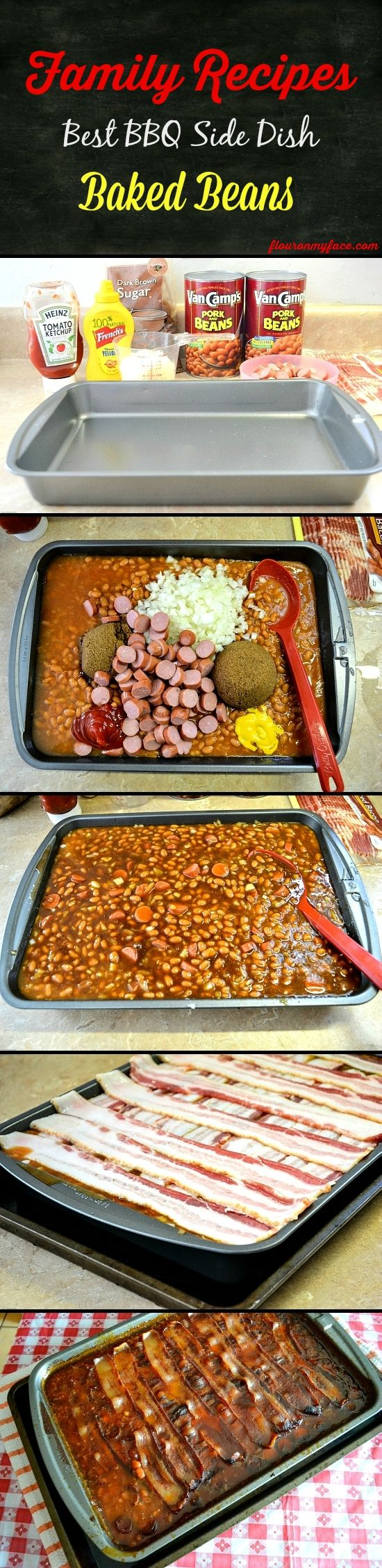 Best Baked Bean Recipe Ever ~ A family favorite that will feed a crowd or just a family. The next day they tastes just as yummy!