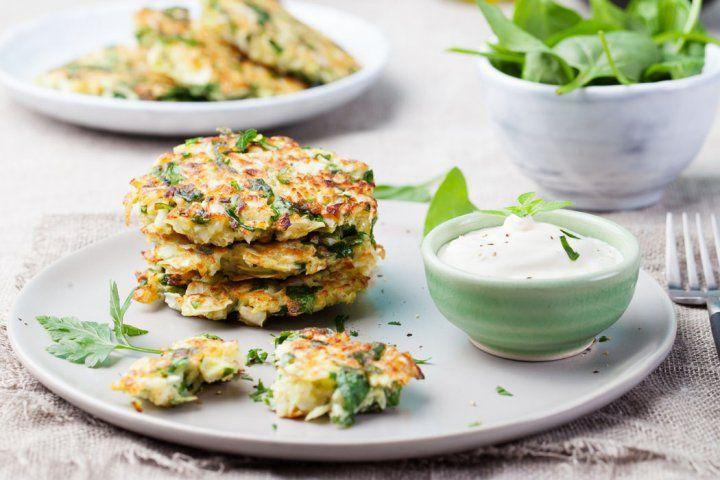 Veckans middagstips: ärtplättar med ostkräm