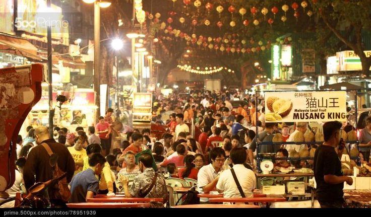 Jalan Alor in Kuala Lumpur by Kazuyuki Takita | 500px Prime