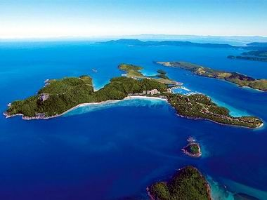 Hamilton Island, Australia - where we stayed when on the Great Barrier Reef