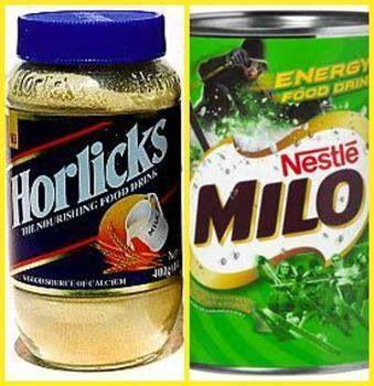 Horlick and Milo Powder