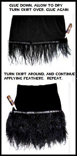Lovely Feathered Skirt-DIY! | BestMomsTV #flamingo