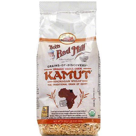 Bob's Red Mill Organic Whole Kamut Khorasan Wheat Grain, 24 oz, (Pack of 4) - Walmart.com