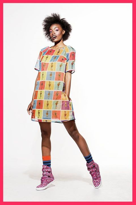 What was your favourite cartoon when you were a kid? Photo Booth Dress by Knapp available on www.bandofcreators.com.