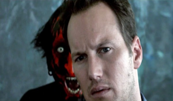 Insidious;  The dad trying to go into the further to save his son and the demon fighting against him