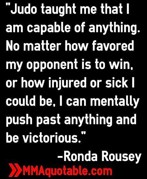 Ronda Rousey quote