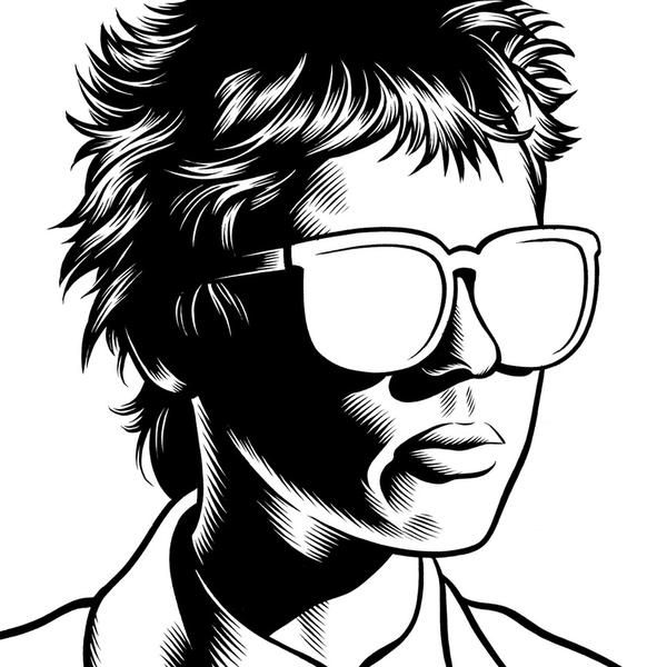 Charles Burns Portrait Illustrations