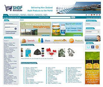 shop-nz-website #ecommercewebsite design