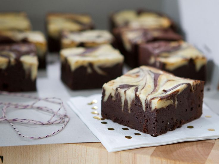 Marbled Chocolate Brownies recipe from Trisha Yearwood via Food Network