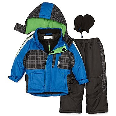 Okie Dokie 174 Snowsuit Boys 2t 5t Jcpenney Boys Coats
