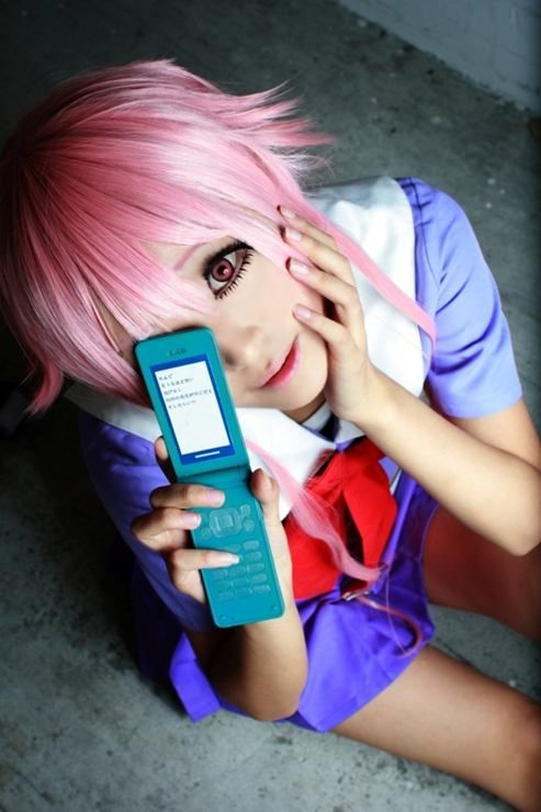 Yuno Gasai from Mirai Nikki Cosplay || anime cosplay