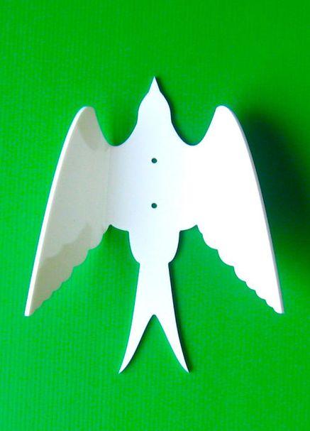 Bird wall hook