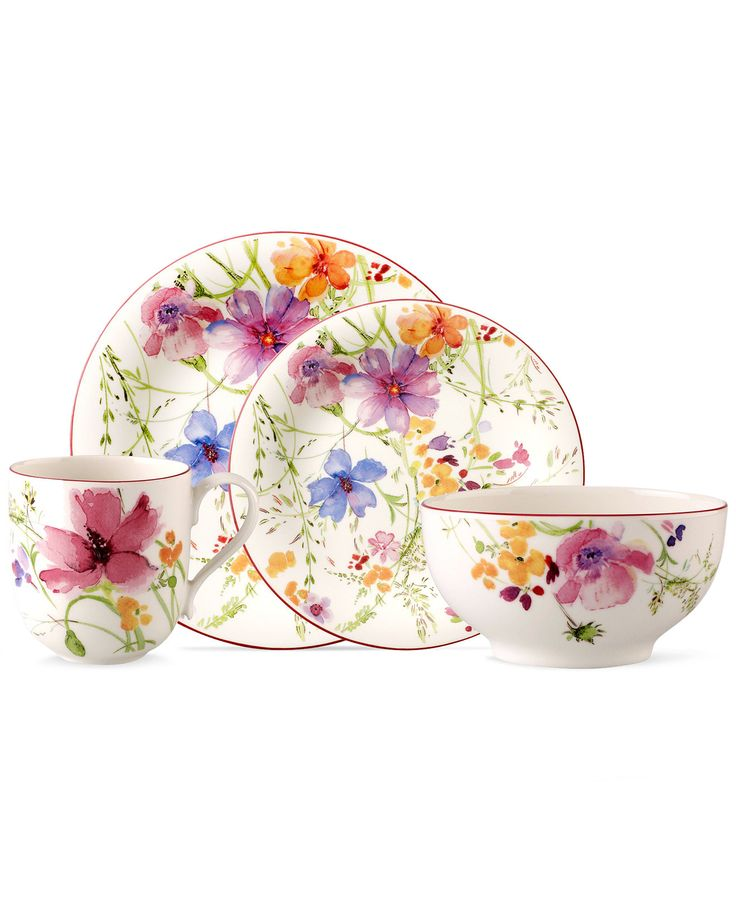 388 best images about dinnerware dish sets on pinterest - Villeroy and boch ...