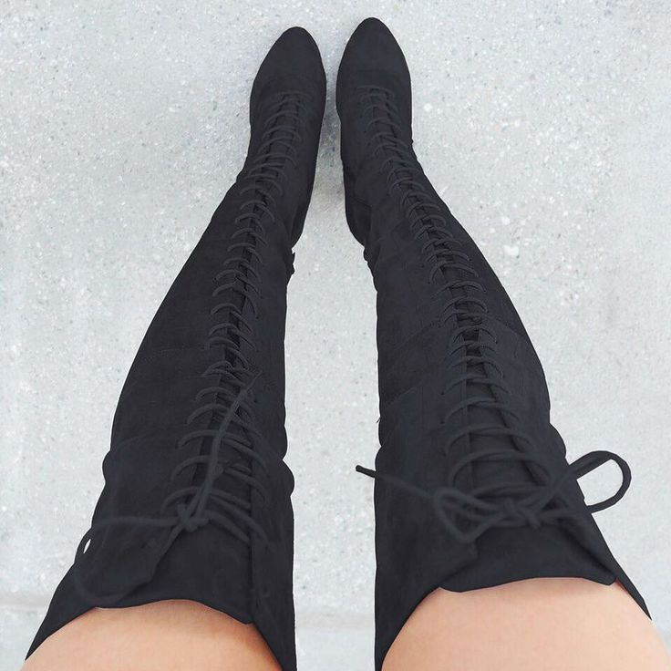 Chunky Lace Up Boots