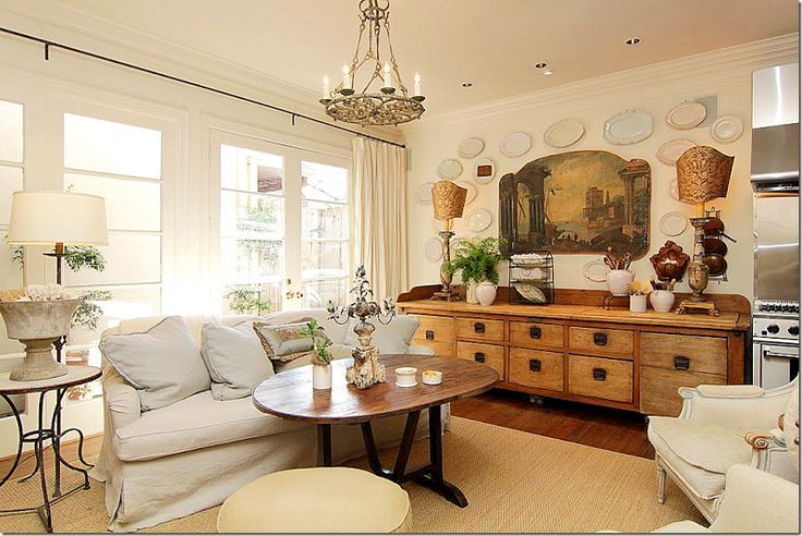 In Her Old Townhouse The Family Room Was In A Separate Room From The Living Room And Dining
