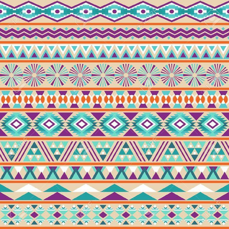 Modelo tribal de rayas transparente geométrica Multicolor fondo de la vendimia colores suaves de Patrón de acero sin costura incluidas en el archivo Clip Art Vectorizado Libre Vectoriales, de la Ilustración. 20025439 imagen.