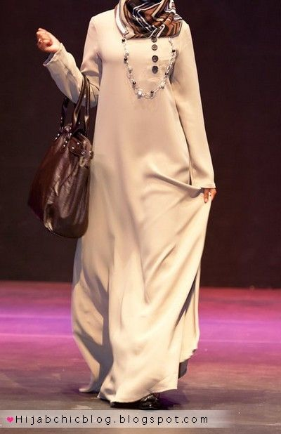 Beautiful Abaya By N-ti 2012 #Hijab