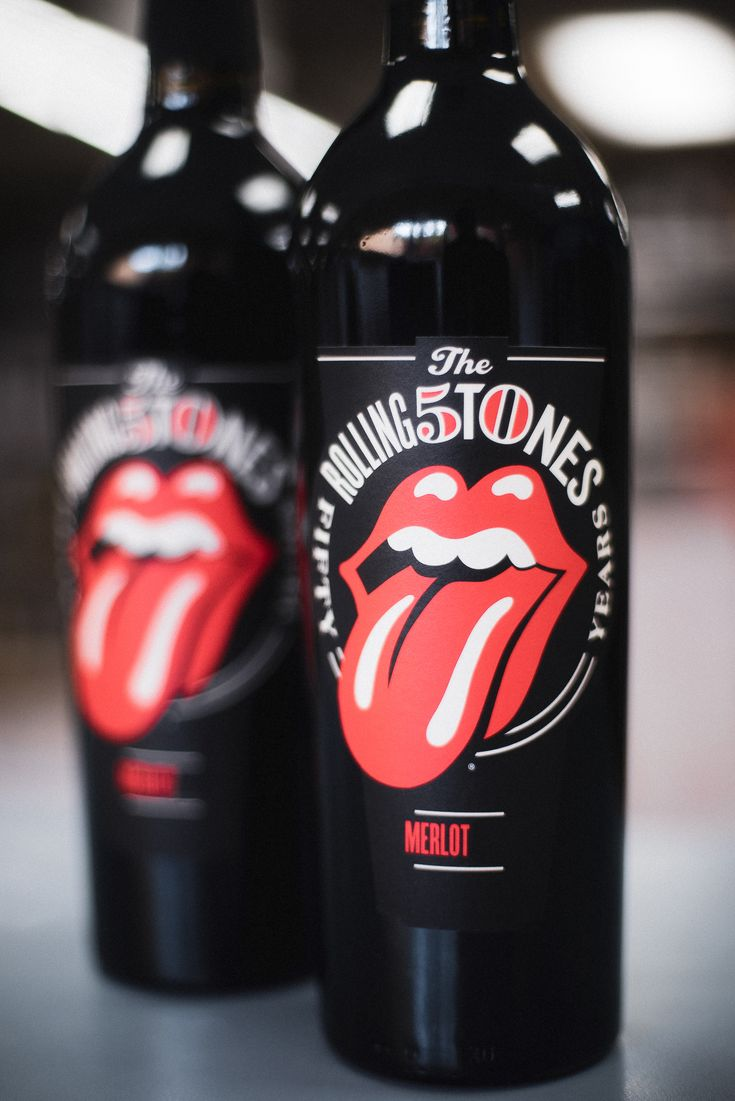 Rolling Stones Forty Licks Merlot By Wines That Rock Wines Dry Red Wine Merlot
