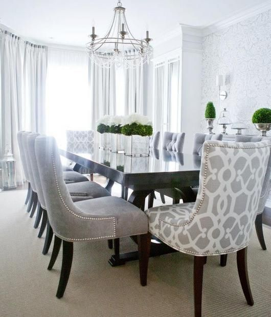 Letu0027s Take A Look Around Some Elegant Dining Room Ideas . Beautiful  Interior Designer Projects That Will Help You Choosing A New Decoration For Your  Dining ...