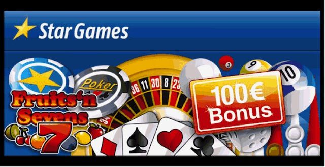 StarGame : Use our exclusive links and get a 100 Euro bonus here http://www.stargames7.com/