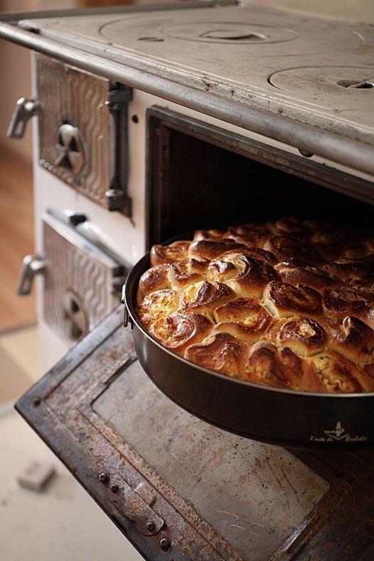 Country baking.. .*I swear...the old stoves made the BEST baked goods!  :)